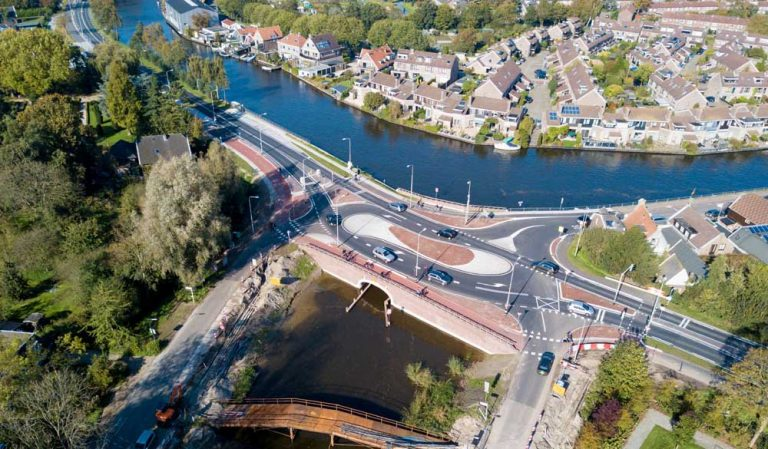 Improved traffic flow Gein Bridge Driemond
