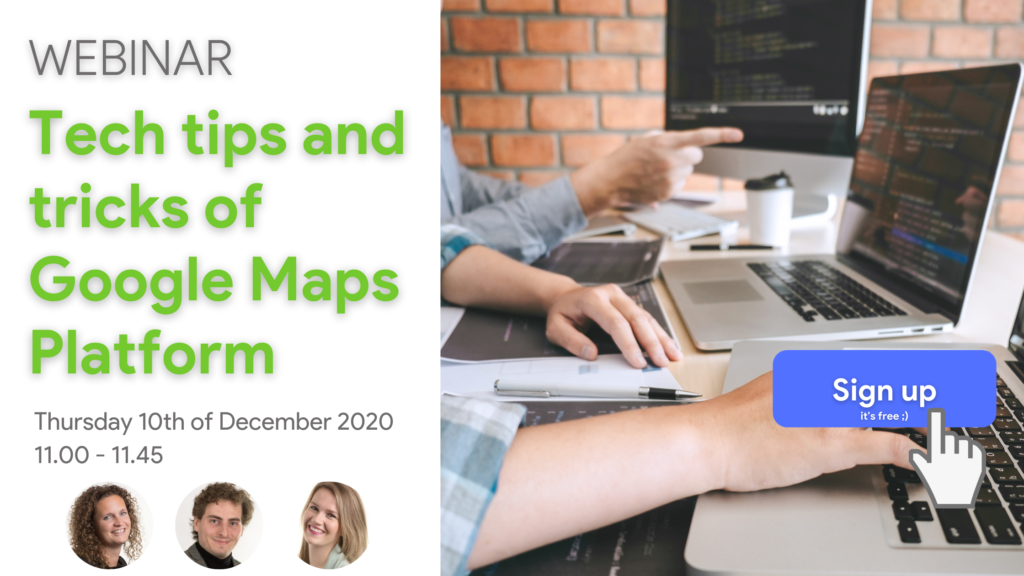Webinar Tech tips and tricks of Google Maps Platform