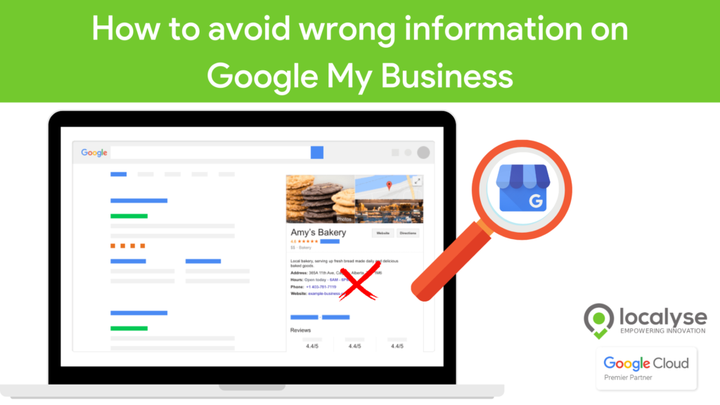 wrong information google my business how to edit